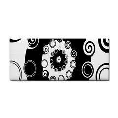 Fluctuation Hole Black White Circle Cosmetic Storage Cases