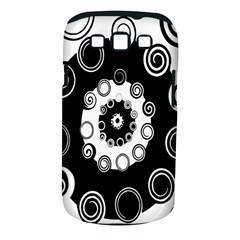 Fluctuation Hole Black White Circle Samsung Galaxy S Iii Classic Hardshell Case (pc+silicone)
