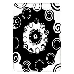 Fluctuation Hole Black White Circle Flap Covers (s)