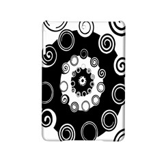 Fluctuation Hole Black White Circle Ipad Mini 2 Hardshell Cases