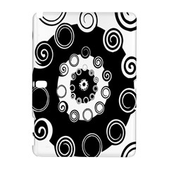 Fluctuation Hole Black White Circle Galaxy Note 1