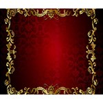 3d Red Abstract Pattern Deluxe Canvas 14  x 11  14  x 11  x 1.5  Stretched Canvas