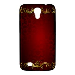 3d Red Abstract Pattern Samsung Galaxy Mega 6 3  I9200 Hardshell Case