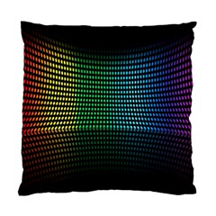 Abstract Multicolor Rainbows Circles Standard Cushion Case (two Sides) by Simbadda