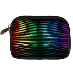 Abstract Multicolor Rainbows Circles Digital Camera Cases by Simbadda