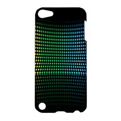 Abstract Multicolor Rainbows Circles Apple Ipod Touch 5 Hardshell Case by Simbadda