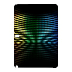 Abstract Multicolor Rainbows Circles Samsung Galaxy Tab Pro 10 1 Hardshell Case by Simbadda