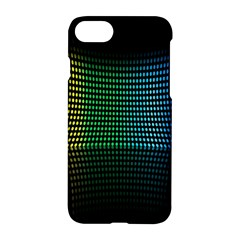 Abstract Multicolor Rainbows Circles Apple Iphone 7 Hardshell Case by Simbadda