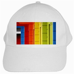 Abstract Minimalism Architecture White Cap by Simbadda
