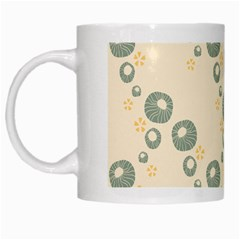 Flower Floral Pink White Mugs