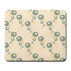 Flower Floral Pink Large Mousepads
