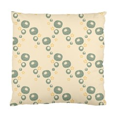 Flower Floral Pink Standard Cushion Case (one Side)