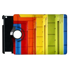 Abstract Minimalism Architecture Apple Ipad 3/4 Flip 360 Case by Simbadda