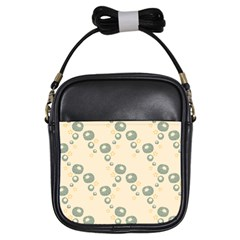 Flower Floral Pink Girls Sling Bags