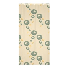 Flower Floral Pink Shower Curtain 36  X 72  (stall)