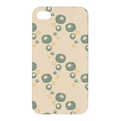Flower Floral Pink Apple Iphone 4/4s Premium Hardshell Case by Alisyart