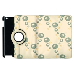Flower Floral Pink Apple Ipad 2 Flip 360 Case