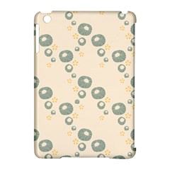 Flower Floral Pink Apple Ipad Mini Hardshell Case (compatible With Smart Cover)