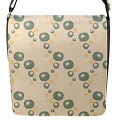 Flower Floral Pink Flap Messenger Bag (s)