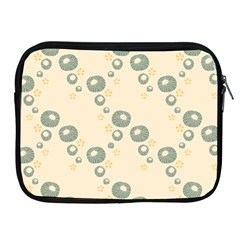 Flower Floral Pink Apple Ipad 2/3/4 Zipper Cases