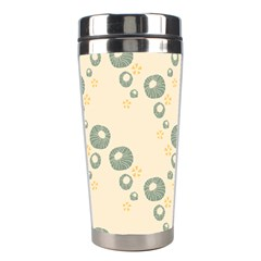 Flower Floral Pink Stainless Steel Travel Tumblers