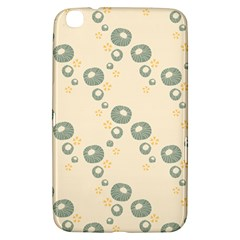 Flower Floral Pink Samsung Galaxy Tab 3 (8 ) T3100 Hardshell Case