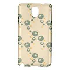 Flower Floral Pink Samsung Galaxy Note 3 N9005 Hardshell Case