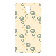 Flower Floral Pink Samsung Galaxy Note 3 N9005 Hardshell Back Case by Alisyart