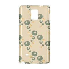 Flower Floral Pink Samsung Galaxy Note 4 Hardshell Case
