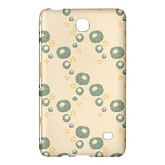 Flower Floral Pink Samsung Galaxy Tab 4 (7 ) Hardshell Case