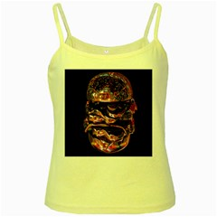 Hamburgers Digital Art Colorful Yellow Spaghetti Tank by Simbadda