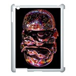 Hamburgers Digital Art Colorful Apple iPad 3/4 Case (White) Front