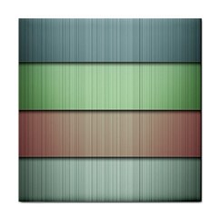 Lines Stripes Texture Colorful Tile Coasters