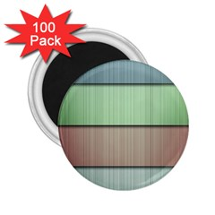 Lines Stripes Texture Colorful 2 25  Magnets (100 Pack)  by Simbadda