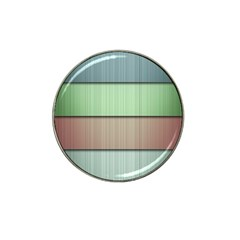 Lines Stripes Texture Colorful Hat Clip Ball Marker (10 Pack) by Simbadda