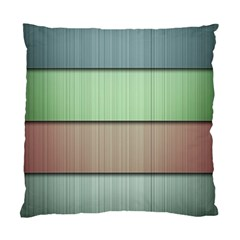 Lines Stripes Texture Colorful Standard Cushion Case (two Sides) by Simbadda