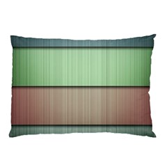 Lines Stripes Texture Colorful Pillow Case (two Sides) by Simbadda