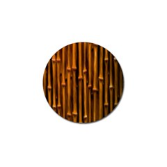Abstract Bamboo Golf Ball Marker (10 Pack) by Simbadda