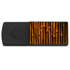 Abstract Bamboo Usb Flash Drive Rectangular (4 Gb) by Simbadda