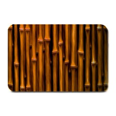 Abstract Bamboo Plate Mats