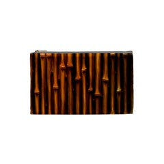 Abstract Bamboo Cosmetic Bag (small)