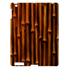 Abstract Bamboo Apple Ipad 3/4 Hardshell Case by Simbadda