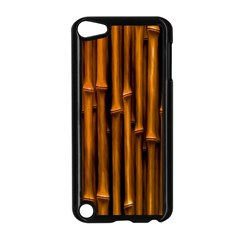 Abstract Bamboo Apple Ipod Touch 5 Case (black) by Simbadda