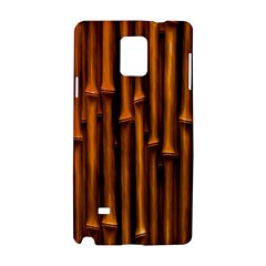 Abstract Bamboo Samsung Galaxy Note 4 Hardshell Case by Simbadda