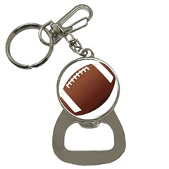 Football American Sport Ball Button Necklaces by Alisyart
