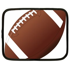 Football American Sport Ball Netbook Case (xxl)  by Alisyart