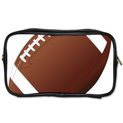 Football American Sport Ball Toiletries Bags