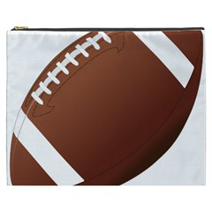 Football American Sport Ball Cosmetic Bag (xxxl)