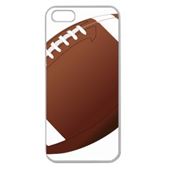 Football American Sport Ball Apple Seamless Iphone 5 Case (clear) by Alisyart