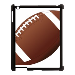 Football American Sport Ball Apple Ipad 3/4 Case (black) by Alisyart